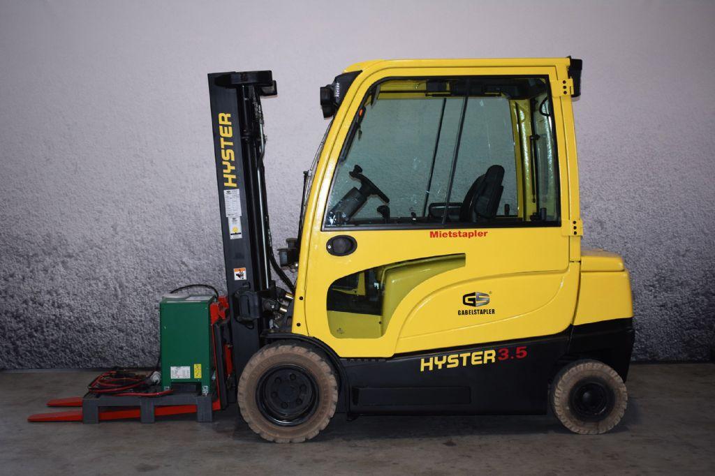 Hyster J 3.50 XN Elektro 4 Rad-Stapler www.gs-gabelstapler.de