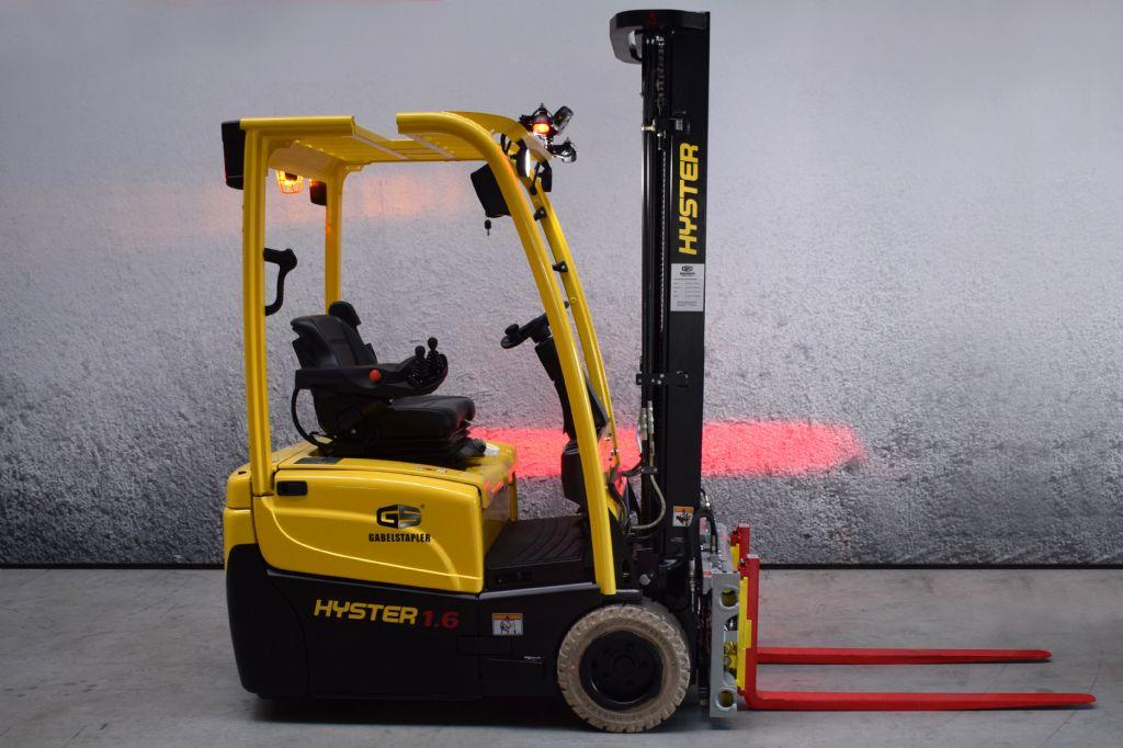 Hyster J 1.60 XNT Elektro 3 Rad-Stapler www.gs-gabelstapler.de