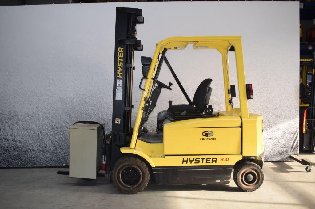 Hyster J 3.00 XM Elektro 4 Rad-Stapler www.gs-gabelstapler.de