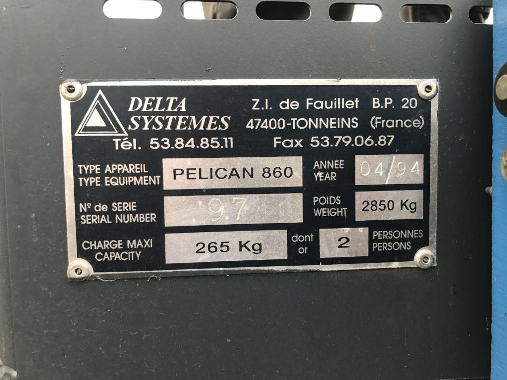 Deltalift Pelican Teleskoparbeitsbühne www.gst-logistic.com