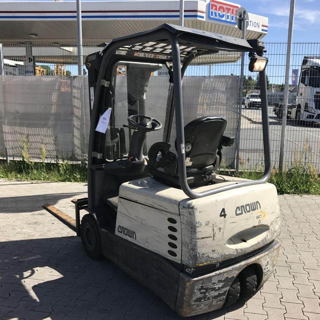 Crown SC 4220 Baujahr 2011/HH4370/ Stunden 11467 Elektro 3 Rad-Stapler www.gst-logistic.com