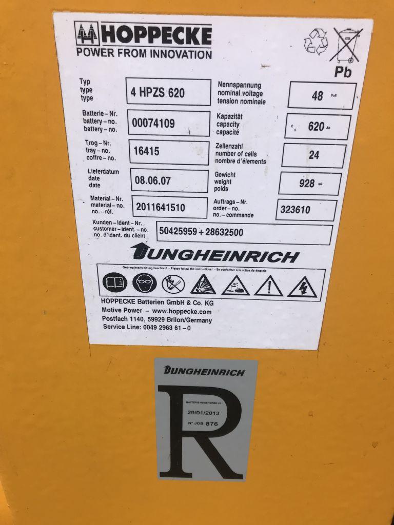 Jungheinrich ETV 114 Baujahr 2006/ Stunden 10725/ HH 6500 Schubmaststapler www.gst-logistic.com