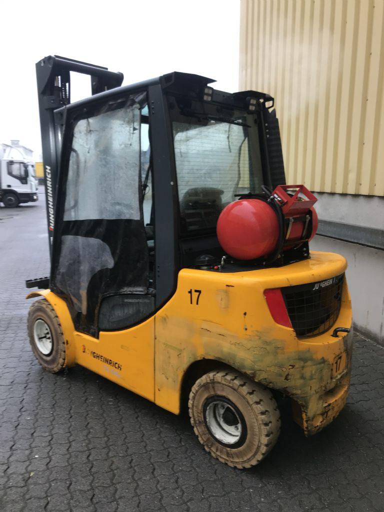 Jungheinrich TFG 435s Baujahr 2014 / Stunden 14628 / HH 3700  Treibgasstapler www.gst-logistic.com