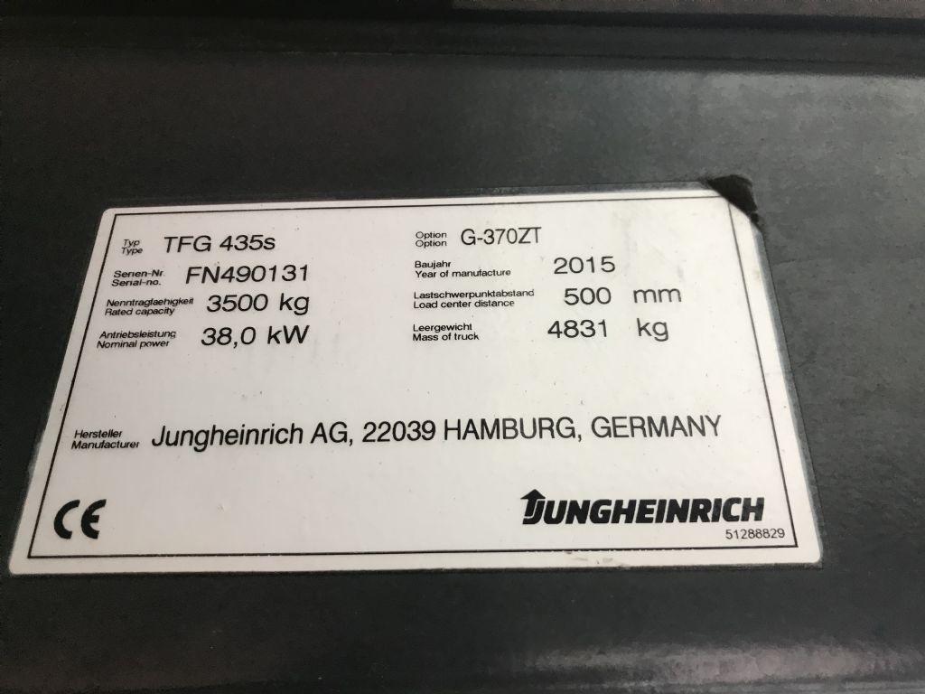 Jungheinrich TFG 435s Baujahr 2015 / Stunden 13334 / HH 3700 Treibgasstapler www.gst-logistic.com