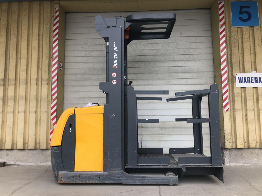 Jungheinrich EKS 110 P 280 ZZ Baujahr 2013 NUR 1015 STUNDEN Hochhubkommissionierer www.gst-logistic.com