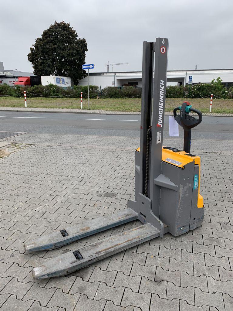 Jungheinrich EMD 118 Baujahr 2017 Betriebsstunden 1666 Hochhubwagen www.gst-logistic.com
