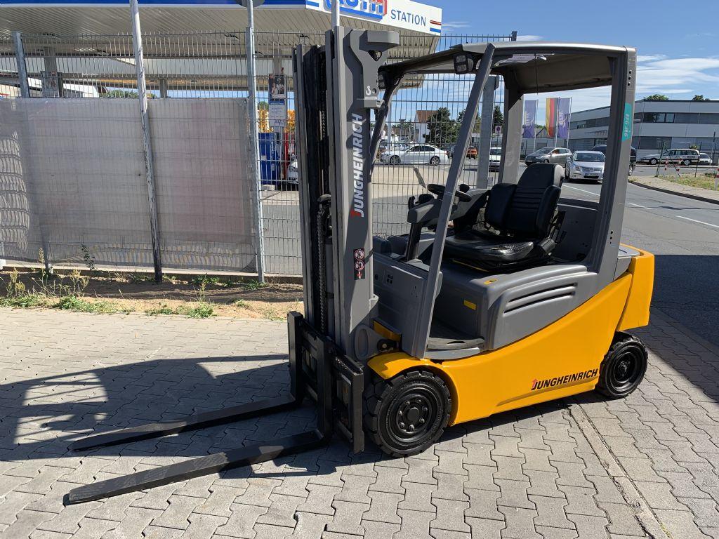 Jungheinrich EFG 316 Baujahr 2015 HH 4400 TRIPLEX  FREIHUB Elektro 4 Rad-Stapler www.gst-logistic.com