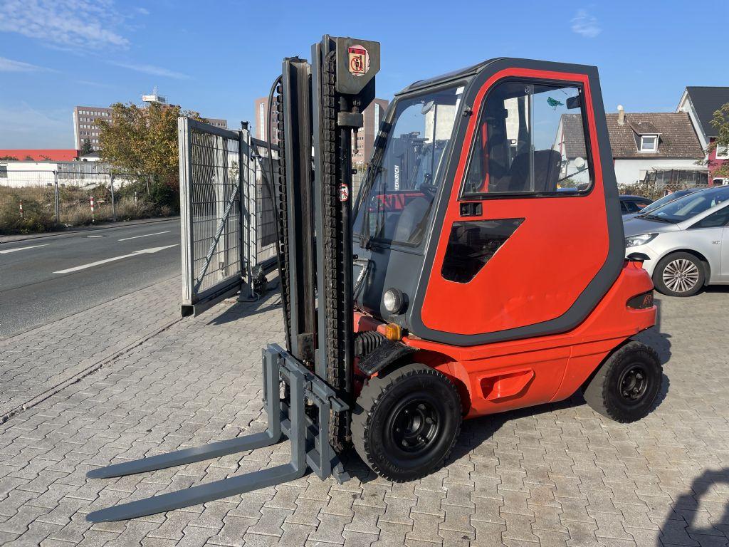 Linde H 25D  Baujahr 1985 Stunden 9422 Vollkabine Dieselstapler www.gst-logistic.com