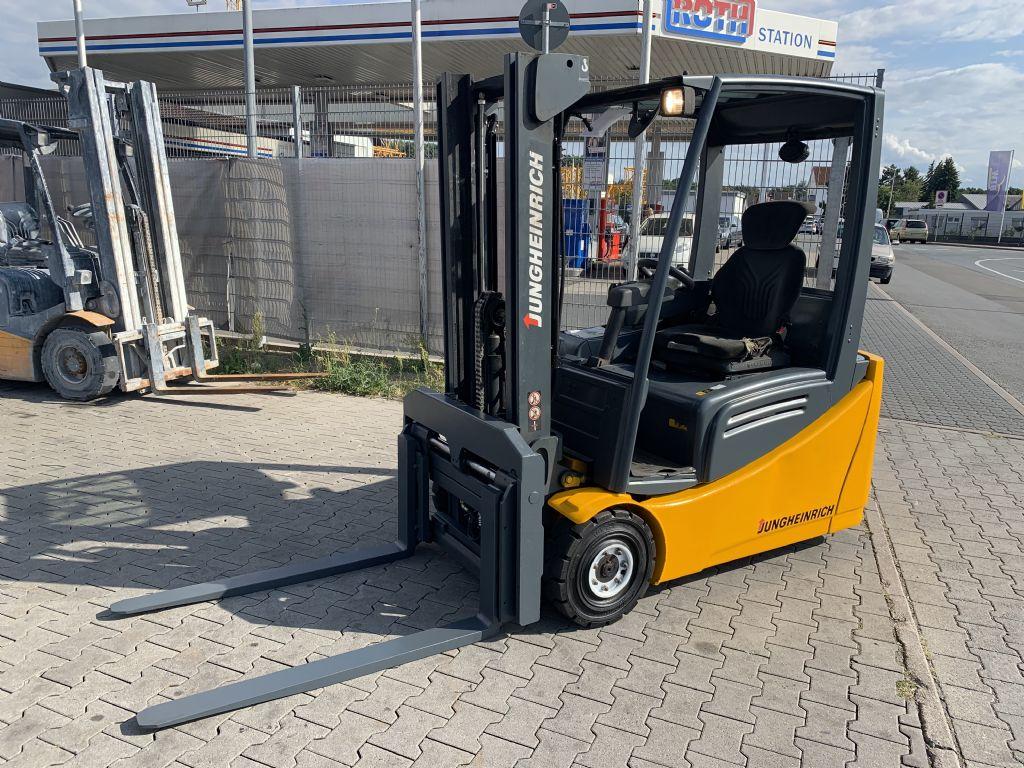 Jungheinrich EFG 216 Baujahr 2010 HH 3100 STUNDEN 13763 Elektro 3 Rad-Stapler www.gst-logistic.com