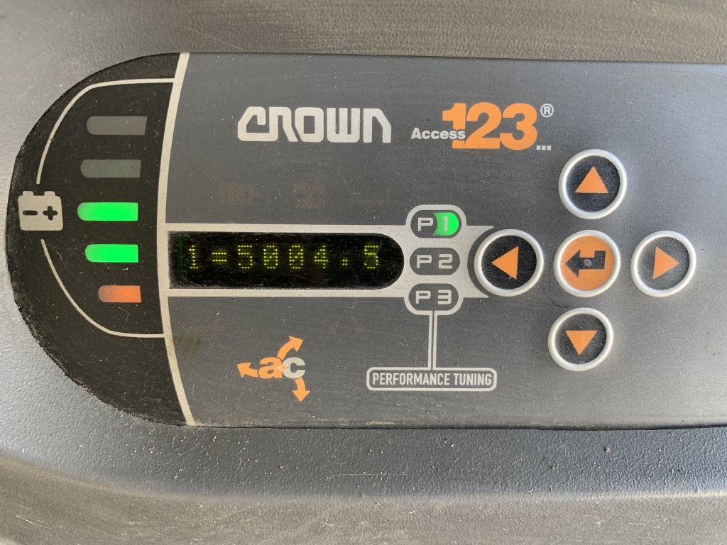 Crown SP 3522-1.0 Baujahr 2009 HH 7770 Stunden 5004 Hochhubkommissionierer www.gst-logistic.com