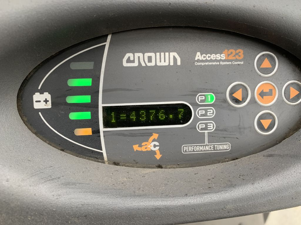 Crown SC 1.6 Baujahr 2013 HH4370 Batterie 2016 Elektro 3 Rad-Stapler www.gst-logistic.com