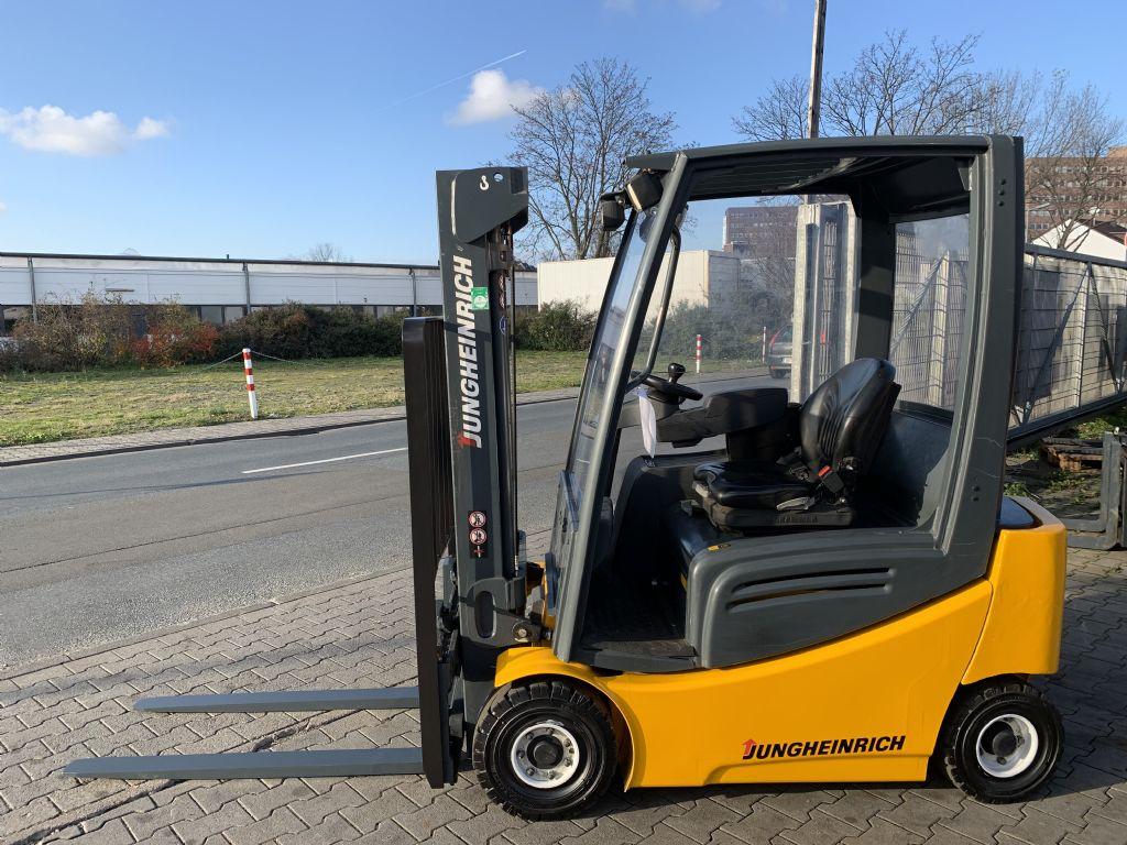 Jungheinrich EFG 316k Baujahr 2012/Stunden 3327 / HH3000 Elektro 4 Rad-Stapler www.gst-logistic.com