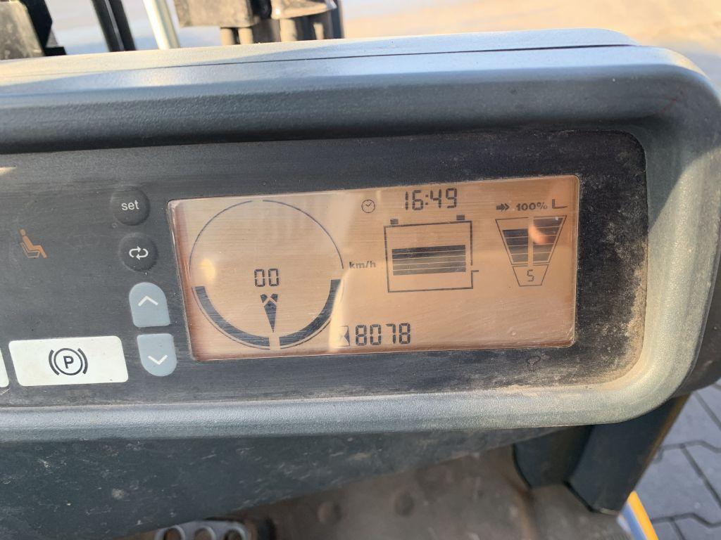 Jungheinrich EFG 216k Baujahr 2014 HH 3000 Stunden 8078 Elektro 3 Rad-Stapler www.gst-logistic.com
