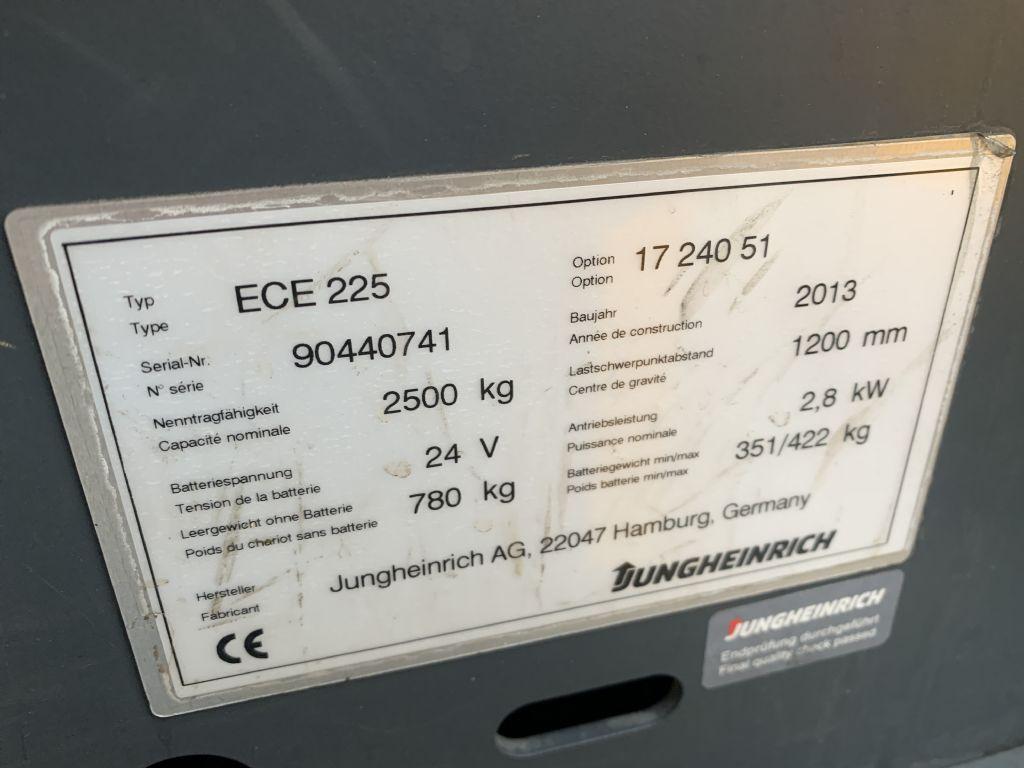 Jungheinrich ECE 225 Baujahr 2013 6x Vorhanden Niederhubkommissionierer www.gst-logistic.com