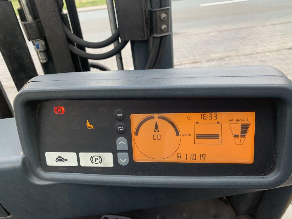 Jungheinrich EFG 316k Baujahr 2014 HH 3300  Batterie Baujahr 2018Zinkenverstellung Elektro 4 Rad-Stapler www.gst-logistic.com