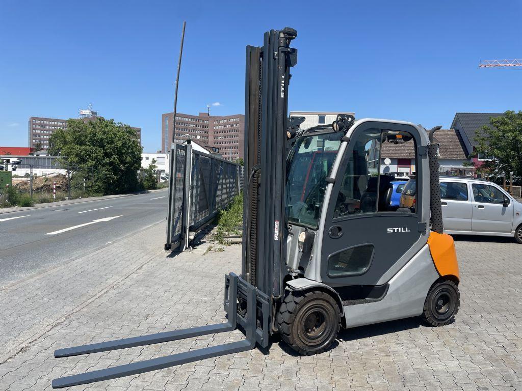Still RX70-25  Baujahr 2013 HH 7,7M TRIPLEX Dieselstapler www.gst-logistic.com