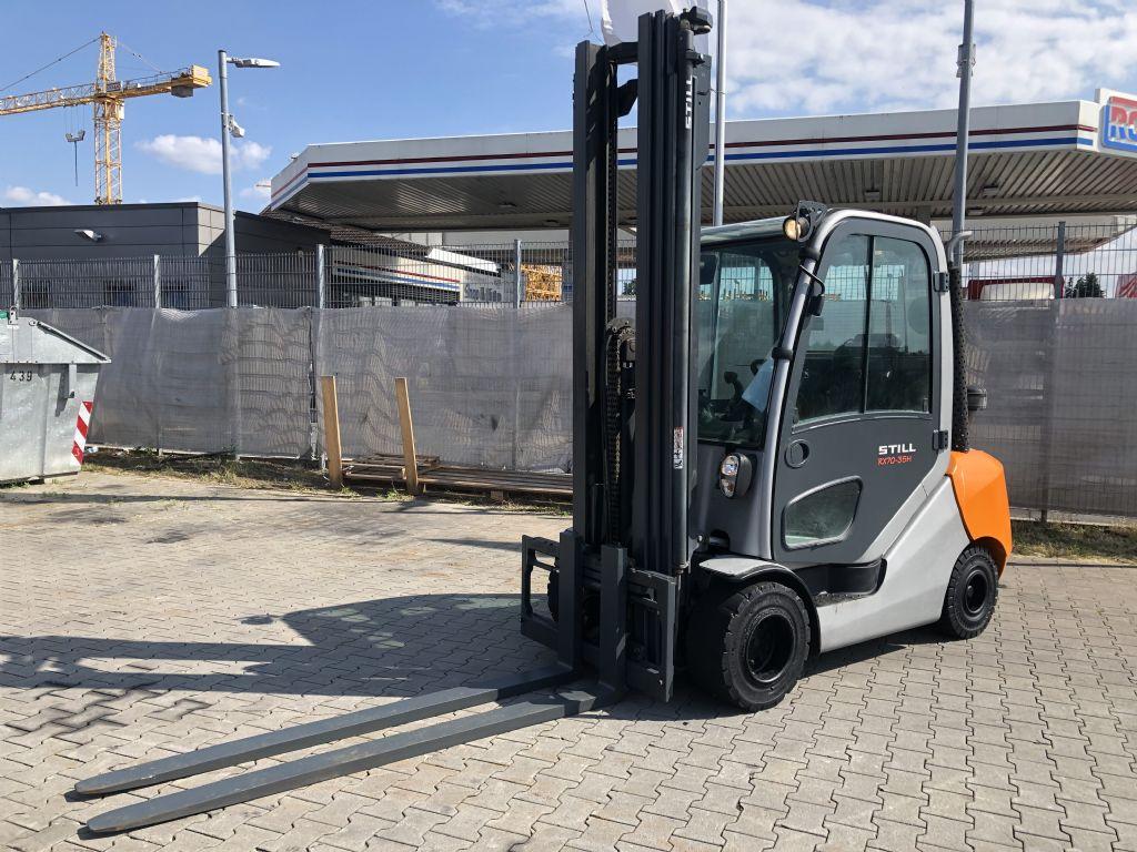 Still RX 70-35  Baujahr 2014 HH 7,M TRIPLEX Dieselstapler www.gst-logistic.com