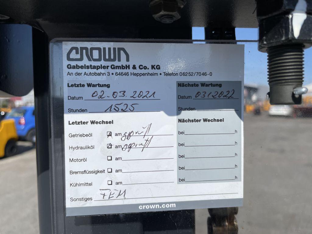 Crown ST 3000-1.0TL Baujahr 2016 HH 2,8M TOP ZUSTAND Hochhubwagen www.gst-logistic.com