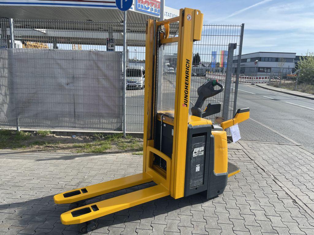 Jungheinrich ERC 216z Baujahr 2012 Stunden 8831 HH 3100 Hochhubwagen www.gst-logistic.com