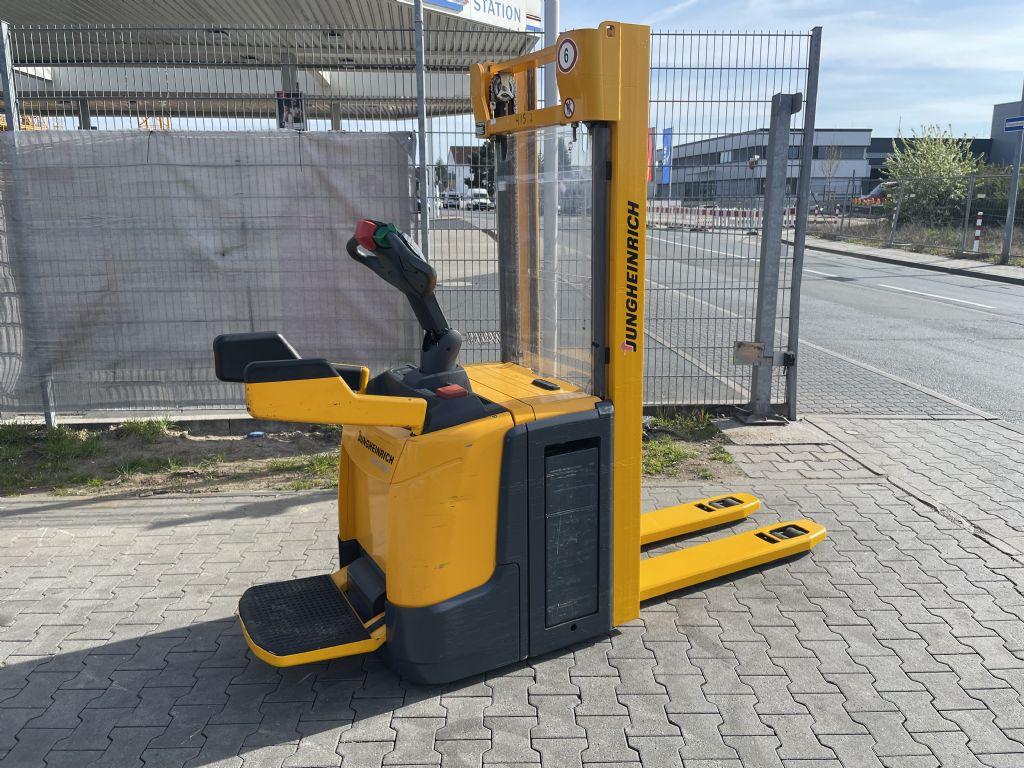 Jungheinrich ERC 216z Baujahr 2012 Stunden 7702 HH 3100 Hochhubwagen www.gst-logistic.com