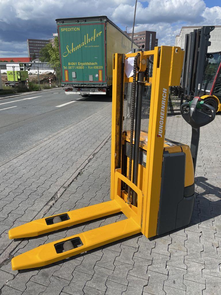 Jungheinrich EJC 112 Baujahr 2012/STUNDEN 6809/Batterie 2017 Hochhubwagen www.gst-logistic.com