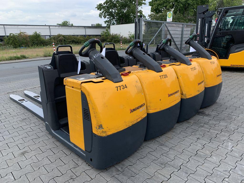 Jungheinrich ECE 225 XL Baujahr 2015 7x Vorhanden  Niederhubkommissionierer www.gst-logistic.com