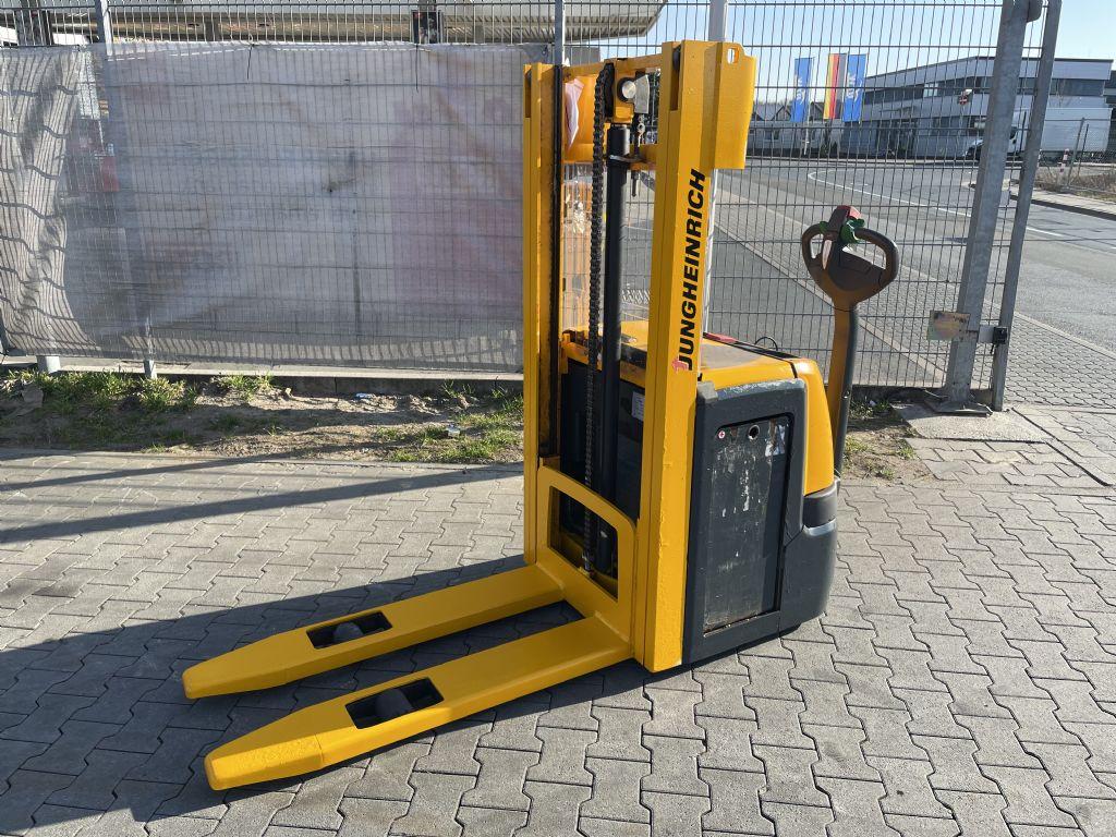 Jungheinrich EJC 214 Baujahr 2015/ HH2500 / Stunden 3742 Hochhubwagen www.gst-logistic.com
