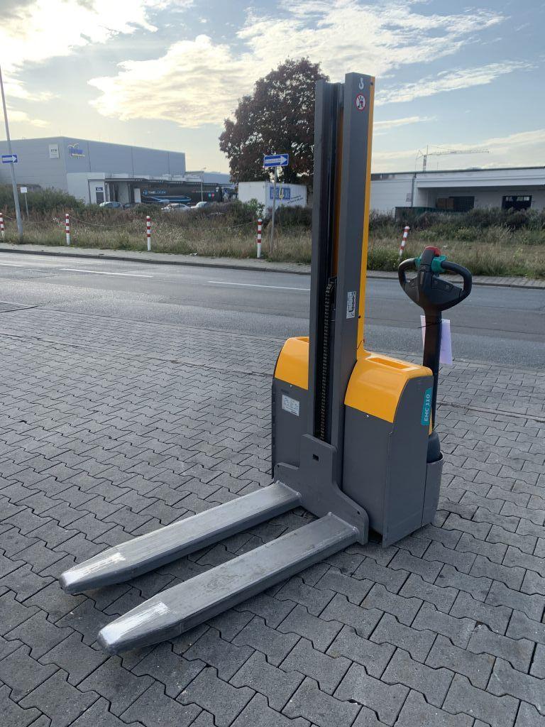 Jungheinrich EMC 110 Baujahr 2017 Hubhöhe 1540 1000kg Hochhubwagen www.gst-logistic.com