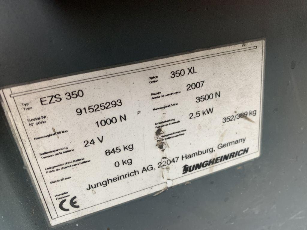 Jungheinrich EZS 350 Baujahr 2007 Betriebsstunden 3248 Schlepper www.gst-logistic.com