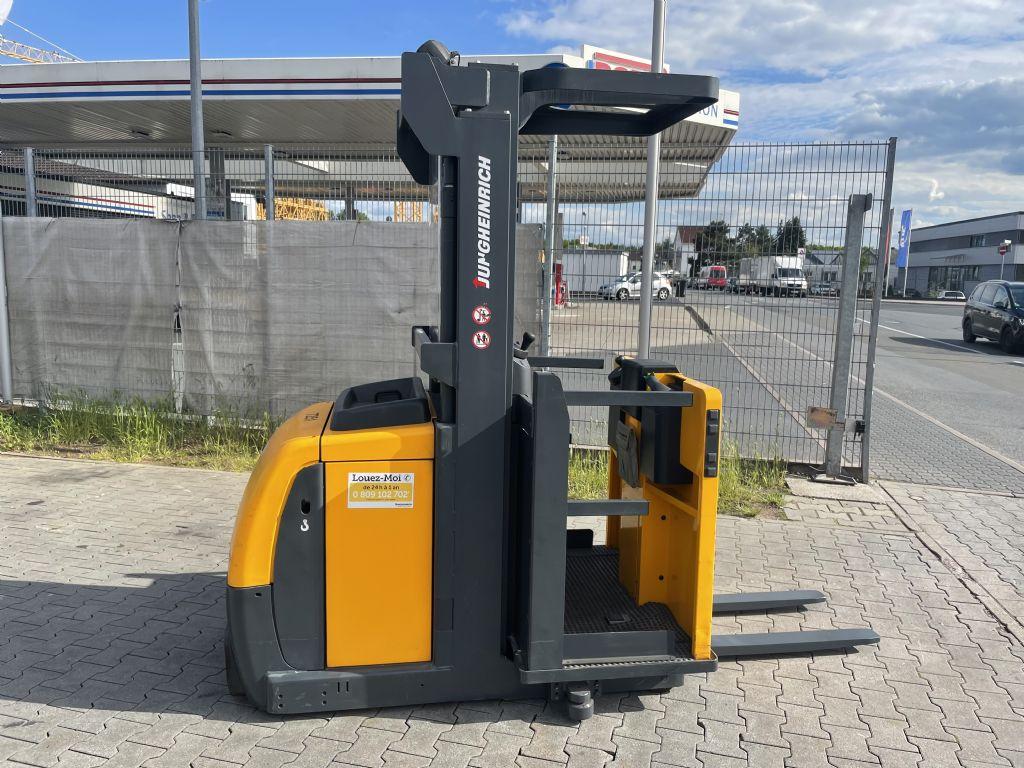 Jungheinrich EKS 110 Baujahr 2012  Stunden 1137 HH 3,6 M Mittelhubkommissionierer www.gst-logistic.com