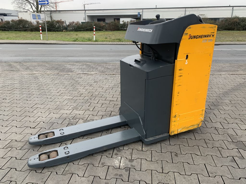 Jungheinrich ESE 120 Baujahr 2014 Betriebsstunden 1615 Niederhubkommissionierer www.gst-logistic.com