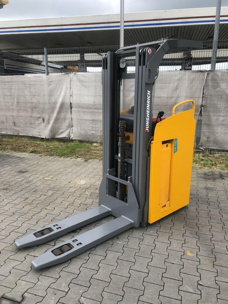 Jungheinrich ESC 216z Baujahr 2017/ HH4200 Waage System Hochhubwagen www.gst-logistic.com