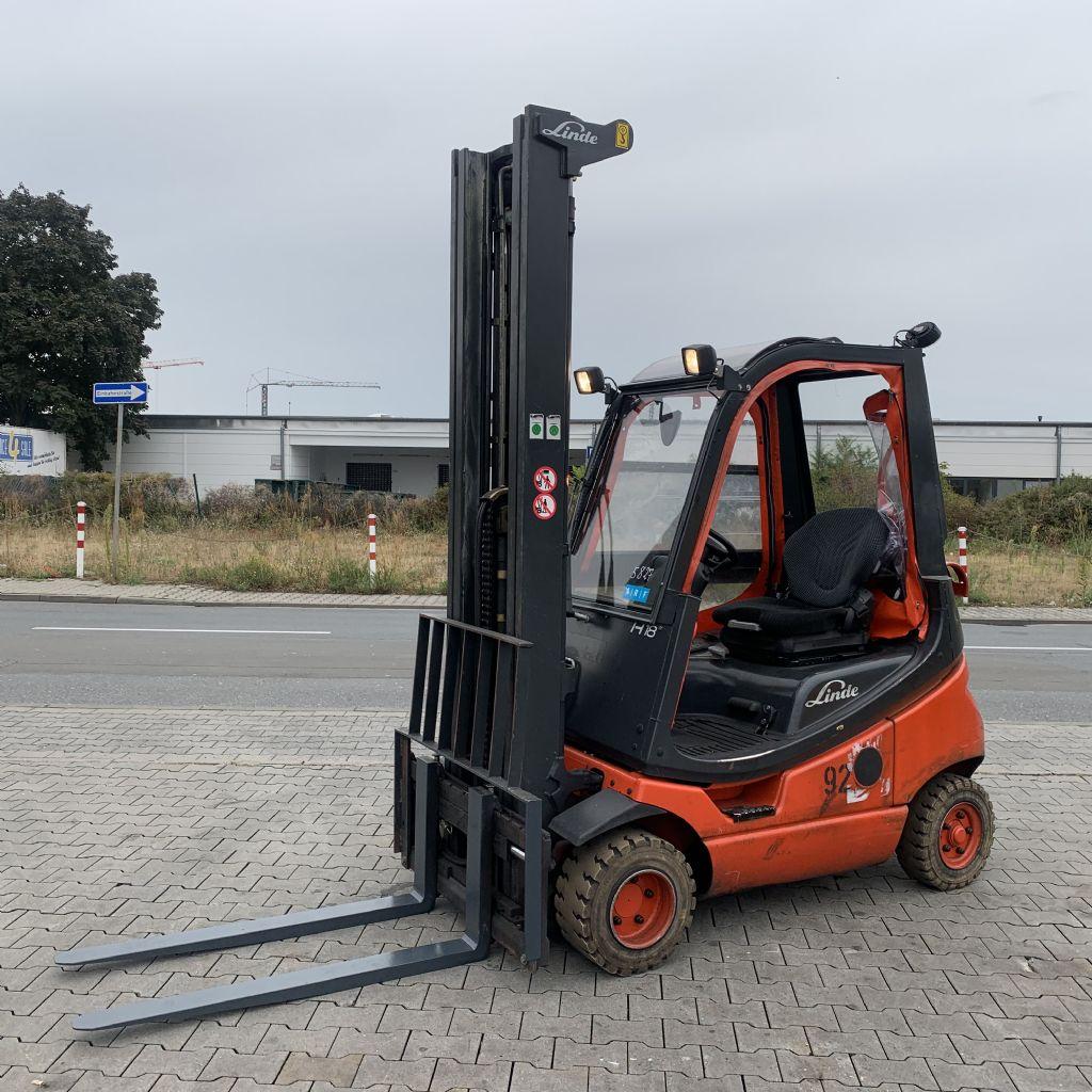 Linde H 18 T/ 350 Baujahr 2015 Stunden 8305  HH 6220  Treibgasstapler www.gst-logistic.com