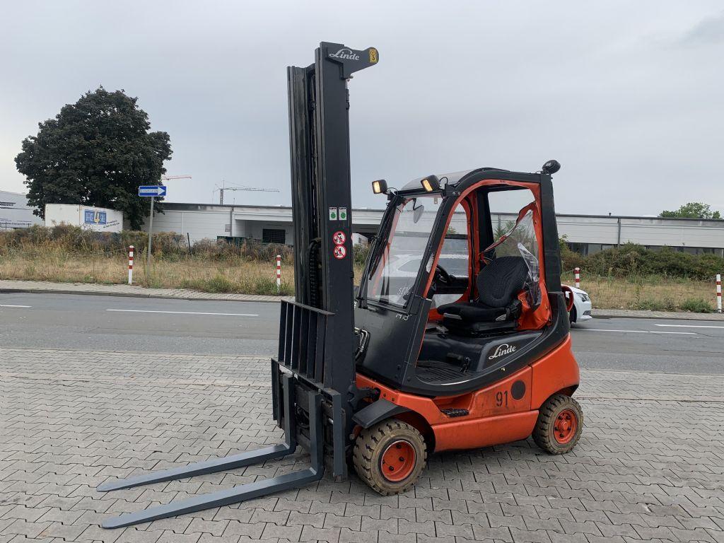 Linde H 18 T/ 350 Baujahr 2015 Stunden 9031  HH 6220  Treibgasstapler www.gst-logistic.com