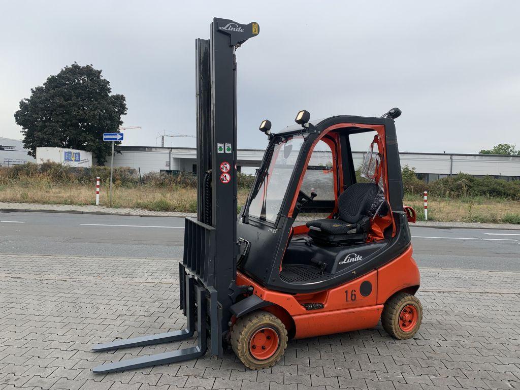 Linde H 18 T/ 350 Baujahr 2015 Stunden 9395  HH 6220  Treibgasstapler www.gst-logistic.com