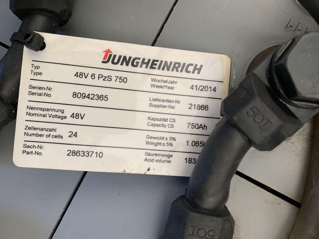 Jungheinrich EFG 216 Baujahr 2005 HH 4500 Stunden 9627 Elektro 3 Rad-Stapler www.gst-logistic.com