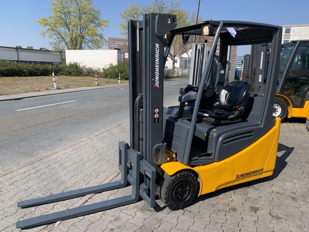 Jungheinrich EFG 216 Baujahr 2008 / Stunden 13566 / HH 4500 Elektro 3 Rad-Stapler www.gst-logistic.com