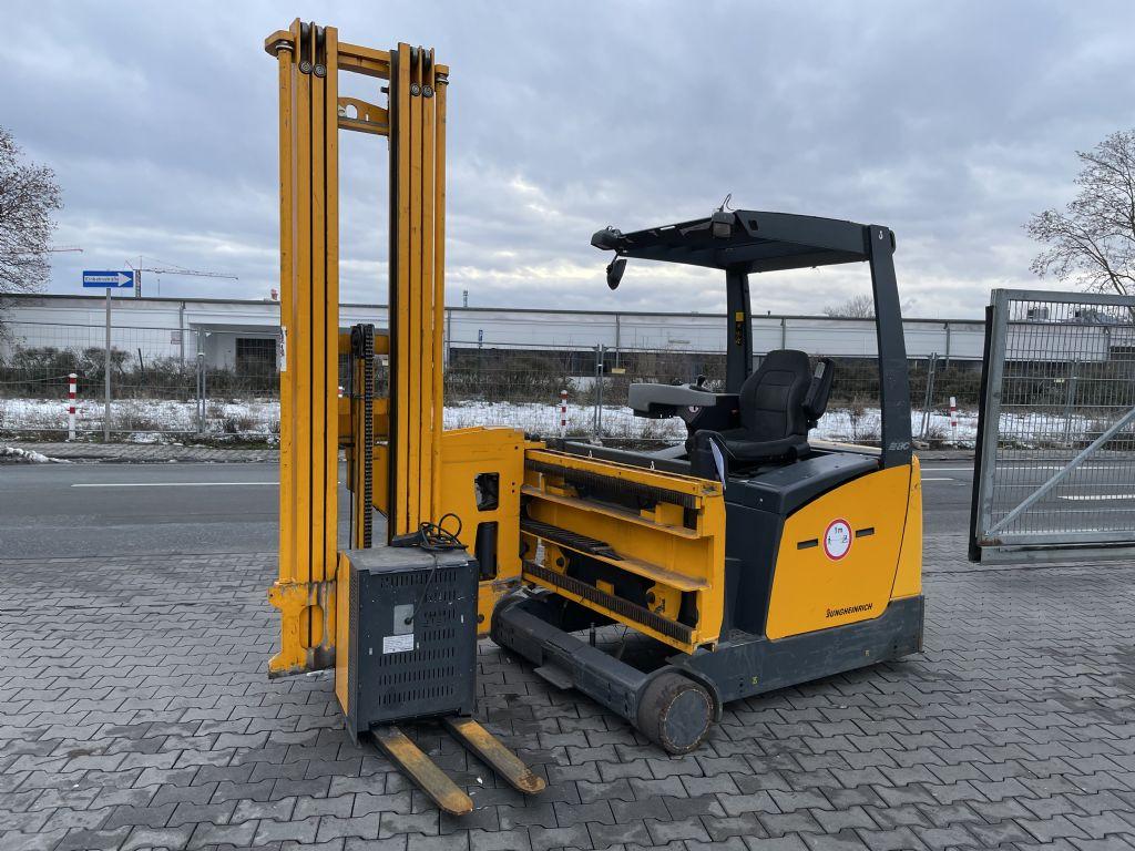 Jungheinrich EFX 413 Baujahr 2010 HH 6,5M TRIPLEX High Level Order Picker www.gst-logistic.com