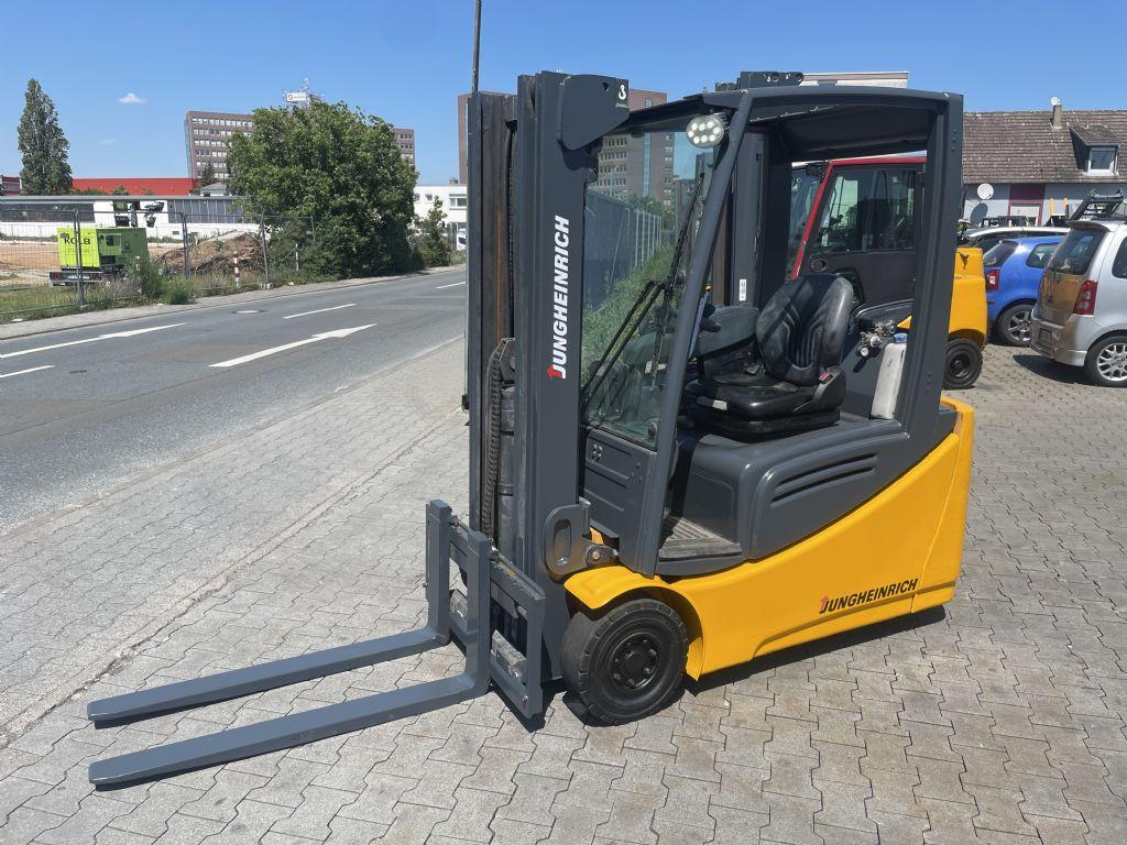 Jungheinrich EFG 216 Baujahr 2011 HH4500 ( Ex Geschützt ) Elektro 3 Rad-Stapler www.gst-logistic.com