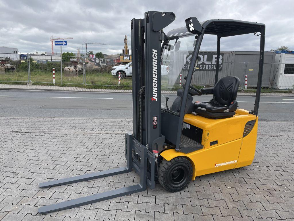Jungheinrich EFG 115 Baujahr 2011 Stunden 1079 HH 4,8M  Elektro 3 Rad-Stapler www.gst-logistic.com