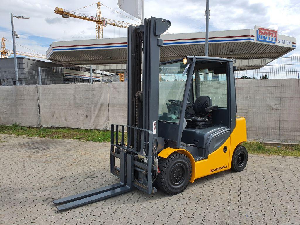 Jungheinrich DFG 425s Baujahr 2011 Stunden 3676 HH 6000 Dieselstapler www.gst-logistic.com