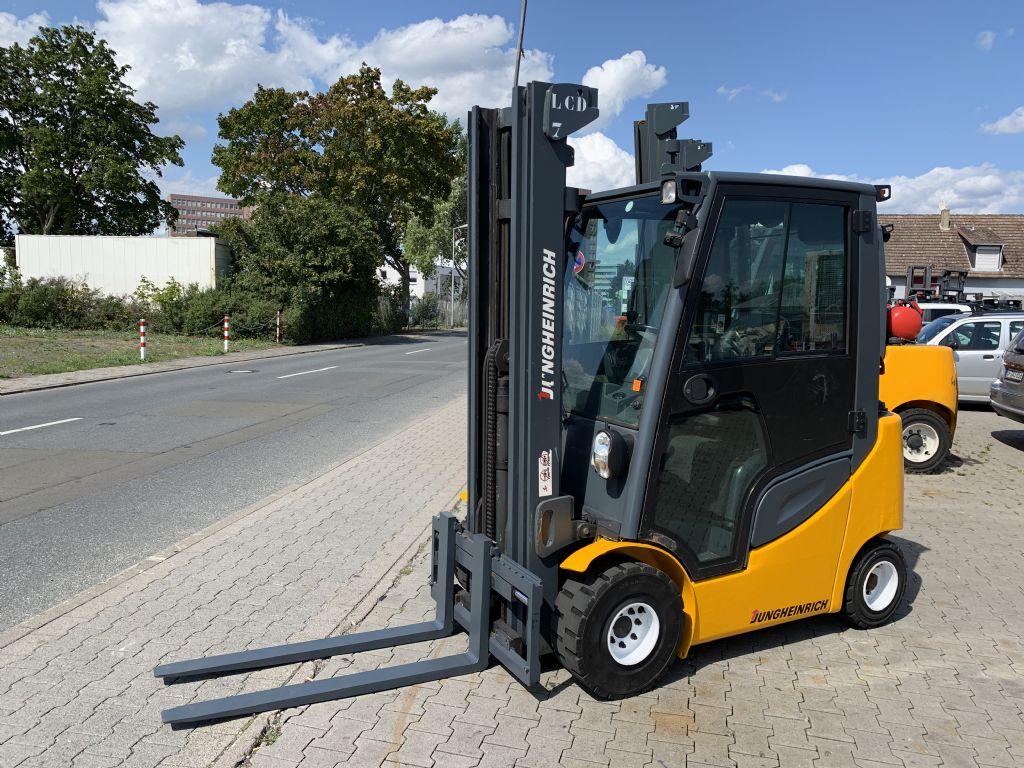 Jungheinrich TFG 316s Baujahr 2012/ Stunden 11734 / HH 5500 Treibgasstapler www.gst-logistic.com