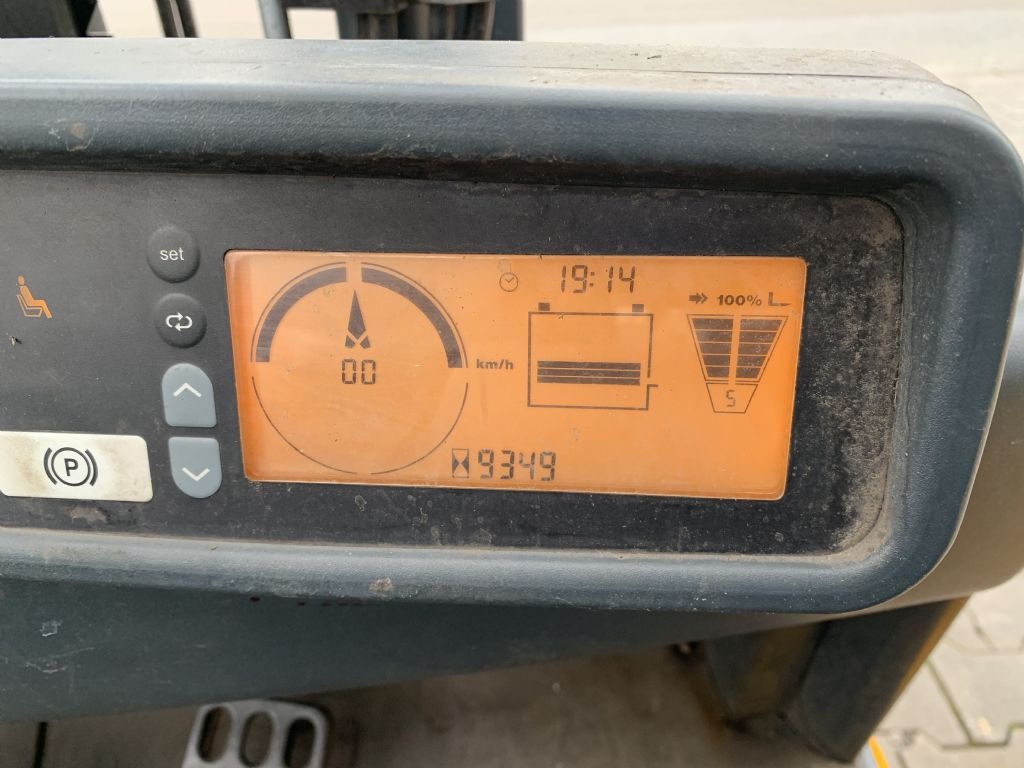 Jungheinrich EFG 216k Baujahr 2014 HH 3000 Stunden 9349 Elektro 3 Rad-Stapler www.gst-logistic.com
