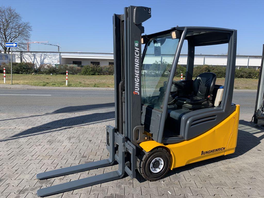 Jungheinrich EFG 216 Baujahr 2014/  STUNDEN 4307 /TRIPLEX  Elektro 3 Rad-Stapler www.gst-logistic.com