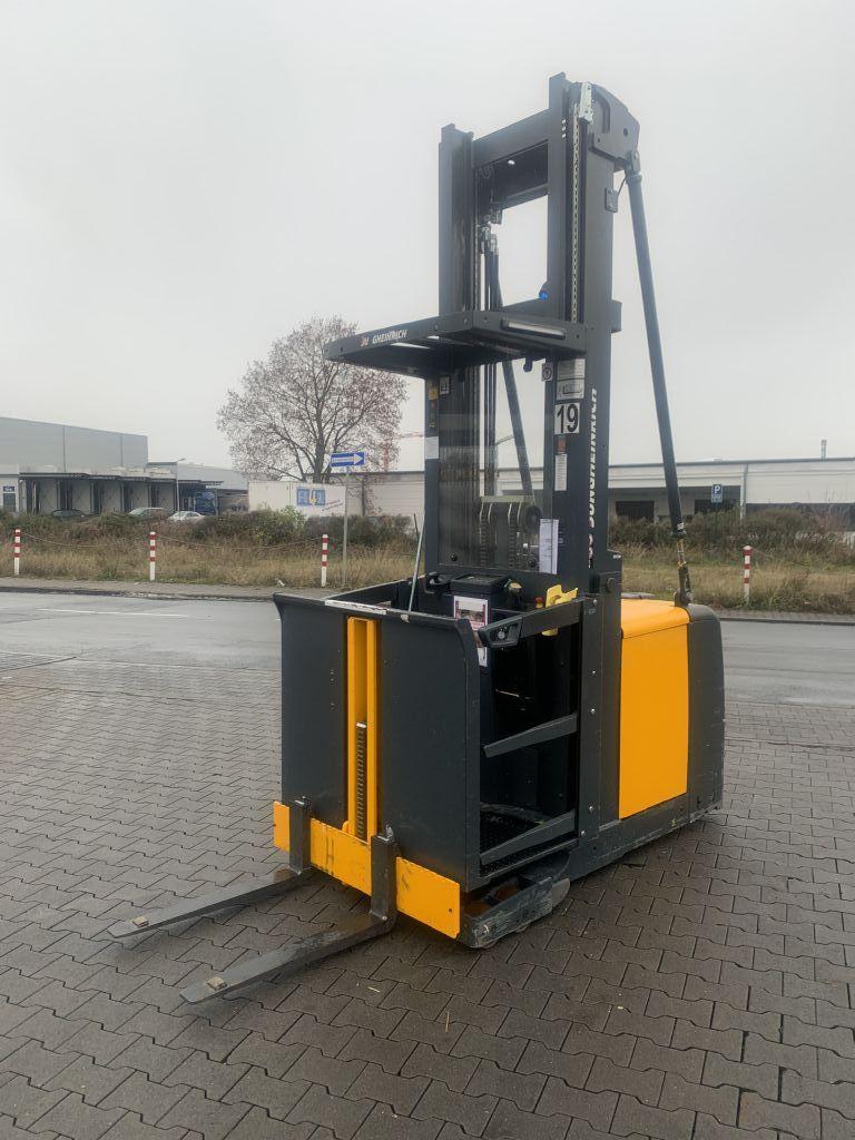 Jungheinrich EKS 312 Baujahr 2014 / HH 8310 / PSA SYSTEM Hochhubkommissionierer www.gst-logistic.com
