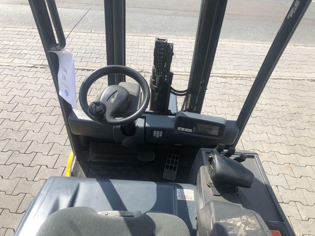 Jungheinrich EFG 216 Baujahr 2014 Betriebsstunden 12051 Elektro 3 Rad-Stapler www.gst-logistic.com