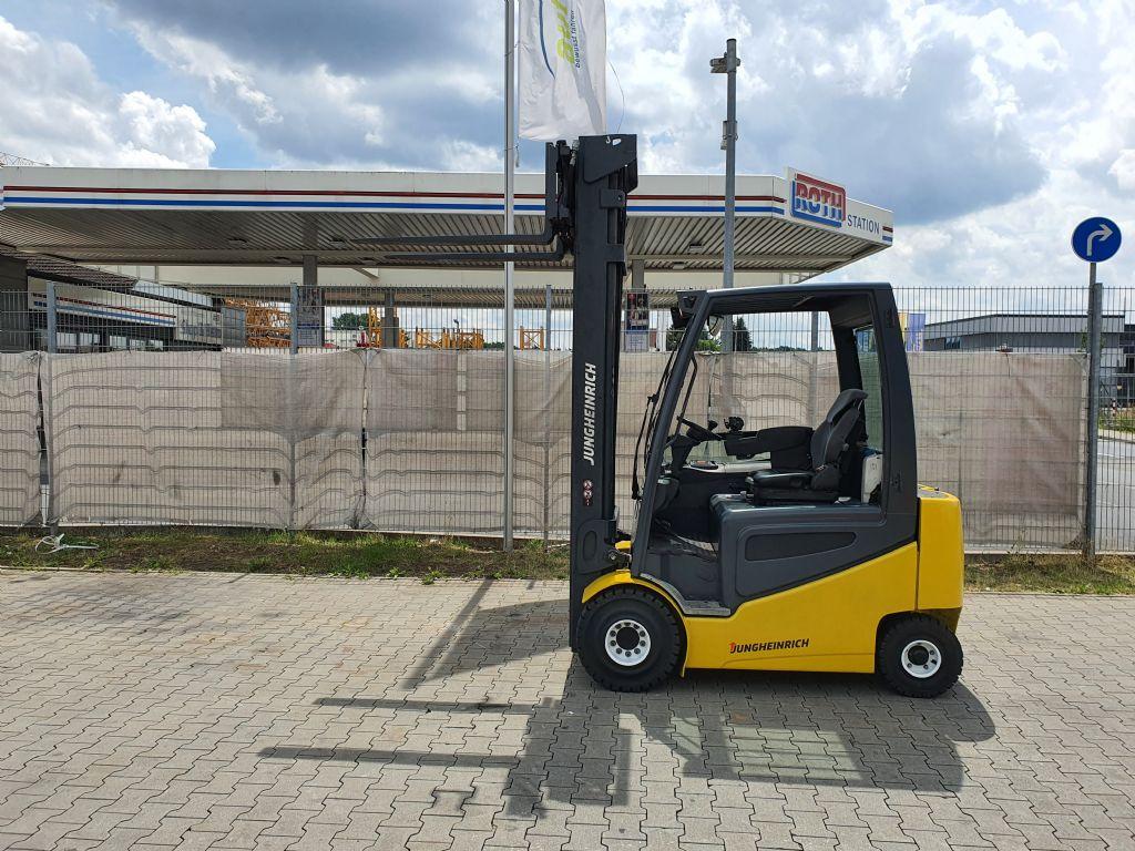 Jungheinrich EFG 425 Baujahr 2014 /Stunden 7480 HH 7000 Elektro 4 Rad-Stapler www.gst-logistic.com