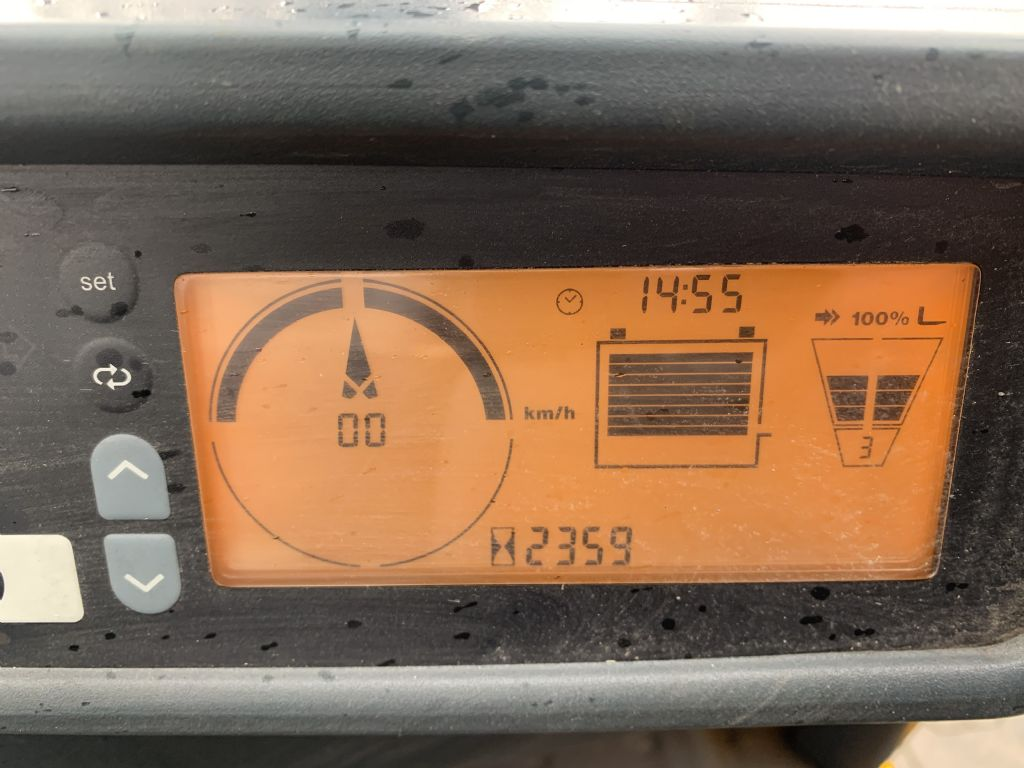 Jungheinrich EFG 215 Baujahr 2014 / Stunden 2359 / HH 3300 Elektro 3 Rad-Stapler www.gst-logistic.com