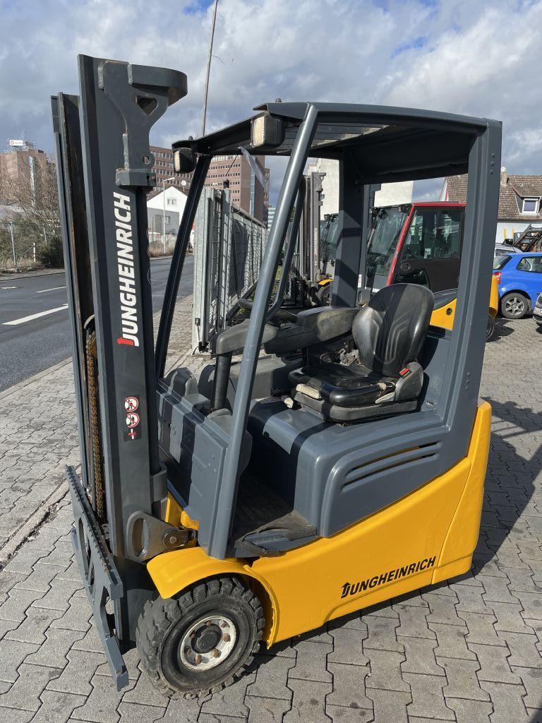 Jungheinrich EFG 215 Baujahr 2015 / Stunden 1149/ HH 3100 Elektro 3 Rad-Stapler www.gst-logistic.com