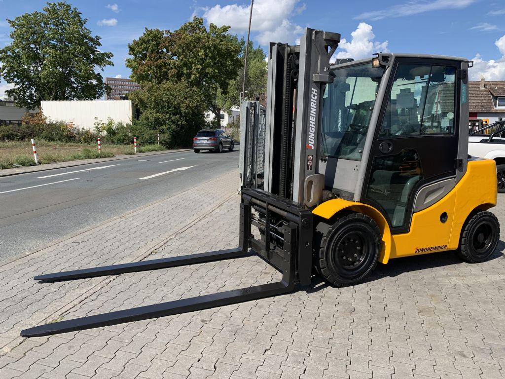 Jungheinrich DFG 540s Baujahr 2017 / Stunden 11208 HH 3500 Dieselstapler www.gst-logistic.com
